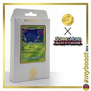 Tangoloss (Tangrowth) 8/147 Holo Reverse - #myboost X Sonne & Mond 3 Nacht in Flammen - Box de 10 Cartas Pokémon Aleman
