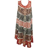 "Mogul Interior Damen Kaftan Bohemian Kleid / Cover Up (Brust: 46 "")"