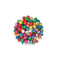 CARTALTO-Set-mit-90-Loto-Kugeln-Durchmesser-18-mm-BATS18-Mehrfarbig