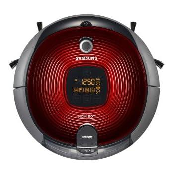 Samsung SR8894 Aspirapolvere Navibot, Rosso