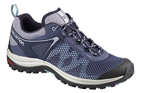 Salomon Damen Ellipse Mehari, Wanderschuhe, blau (crown blue / evening blue / canal blue), Größe 38 2/3*