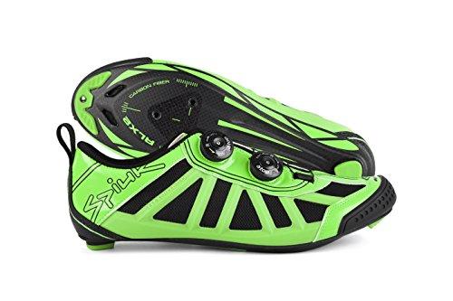 Spiuk, Scarpe da ciclismo uomo verde / nero