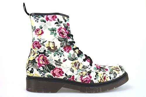 scarpe donna MADAME PIGALLE stivaletti tessuto multicolor AM779 (40 EU)