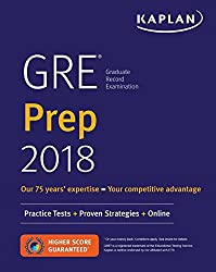 GRE Prep 2018: Practice Tests + Proven Strategies + Online