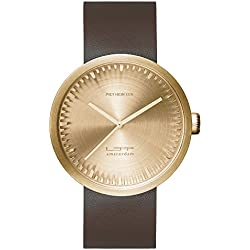 Leff Amsterdam Women's Watch Analogue Quartz Leather Brown LT72022