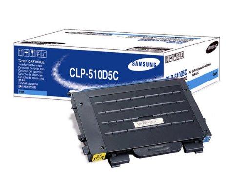 Preisvergleich Produktbild Samsung CLP-510D5C/ELS Toner, 5.000 Seiten, cyan