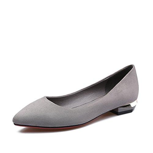 Ms sharp colori a tinta unita con scarpe basse in primavera/pendolare e per il tempo libero scarpe di luce A