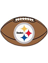 "Pittsburgh Steelers NFL 22"" X 35"" Football Mat by Caseys"