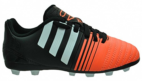 Neuf: adidas Nitrocharge 4.0 FxG Enfant Chaussures de football, Noir Schwarz