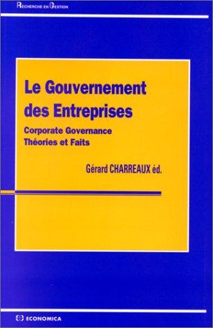 Le gouvernement des entreprises