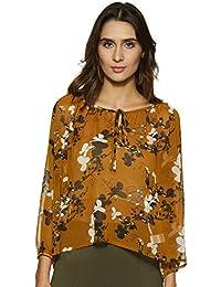 0a2d104962ee4 Amazon Brand - Symbol Women s Printed Top