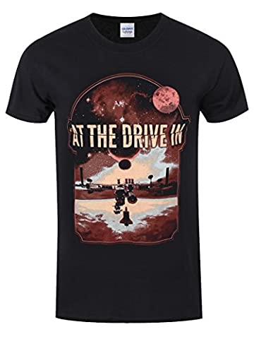 T-Shirt At The Drive In Eclipse Homme Noir