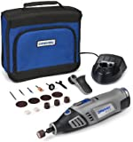 Dremel 8100-1/15 Cordless Multitool, Li-Ion (7.2 V), 1 Attachment, 15 Accessories