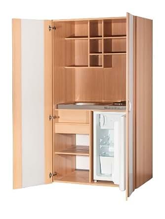 mebasa mk0009skk armoire cuisine compact cuisine h tre 100 cm pantry coussin pour plaques de. Black Bedroom Furniture Sets. Home Design Ideas