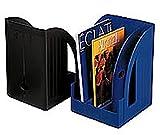 Porte-revues Jumbo - Noir - H30 x P27,8 cm - Dos 7,8 cm