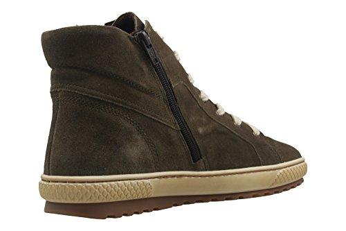 GABOR - Damen High Top Sneaker - Rot Schuhe in Übergrößen Grün
