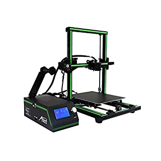 3D Printer Anet E10 Professionelle 3D Drucker, LCD Display 3D Desktop Mehrsprachige 3D Drucker Aluminium Kits, Hochpräzise Selbstmontage, Desktop 3D Drucker DIY 3D Drucker Kit