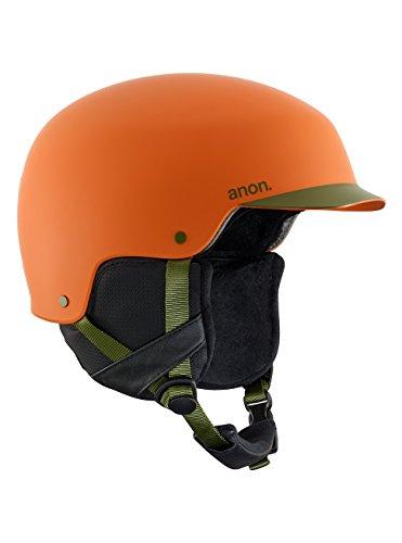 Anon Blitz - Casco de snowboard para hombre, Naranja, S