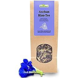 Blau-Tee - Anchan, Ganze Blüten der Schmetterlings-Erbse, Butterfly pea, Schamblume, handverlesen im thailändischen Bergland, 30g