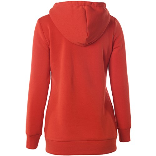Partiss - Sweat à capuche - Femme Orange