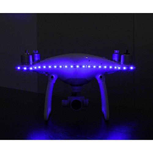 RCstyle LED-Scheinwerfer für DJI Phantom 3 Quadrokopter Nachtflüge