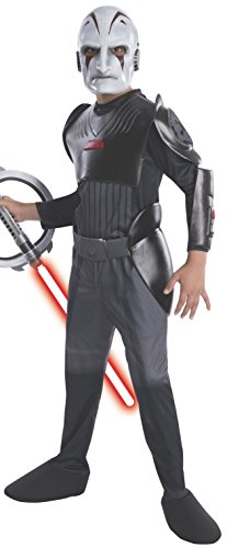 Kostüm Inquisitor Star Wars - Rubie's 3884897 - The Inquisitor Deluxe - Kostüme für Kinder, L