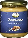 Eisblümerl Bio Originale Erdnussmus grob mit Salz Bio Brotaufstrich Nussig, 3er Pack (3 x 0.25 kg)