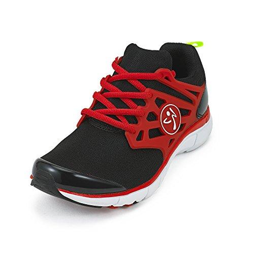 Zumba Footwear Damen Zumba Fly Fusion Fitnessschuhe, Schwarz (Black), 39 EU (8 US)