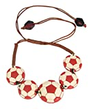 WOAP Red & White Colour Rubber Football ...