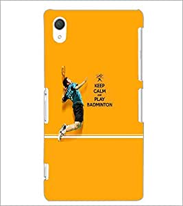 PrintDhaba Quote D-5951 Back Case Cover for SONY XPERIA Z3 (Multi-Coloured)