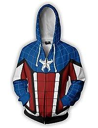 Sudaderas con Capucha para Hombre Spiderman Sudaderas con Capucha Impresas en 3D Sudadera con Capucha y