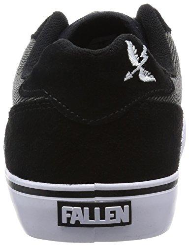 Fallen , Chaussures de skateboard pour homme black/saint archer