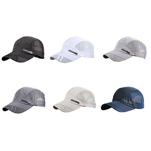 LUFA Summer Breathable Mesh Baseball Cap Sport Quick Drying Hats For Men
