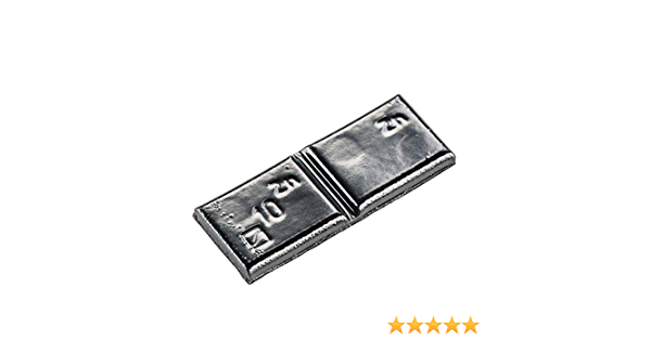 100x Klebegewichte Schwarz Typ361 10g Klebegewichte Alufelgen Auswuchtgewichte Auto