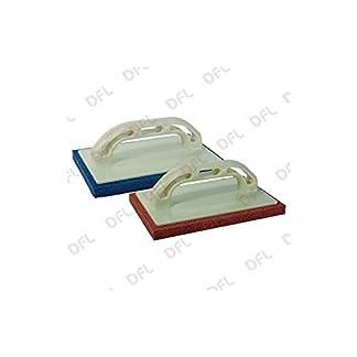 Llana de goma esponja soporte de poliestireno resistente. Goma Esponja mm 14, Blanda.