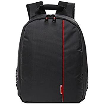 Magideal Tigernu DSLR Camera Bag Black Red