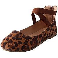 Correa Cruzada de Fondo Plano Boca Baja Zapatos Solos Zapatos de Mujer Alpargatas Plataforma Bohemias Romanas