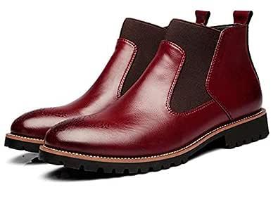 Con buona partenza Stivali di pelle italiana Vintage metà