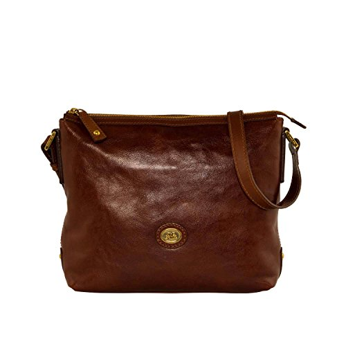 The Bridge Borsa Messenger 04222101-14 Marrone