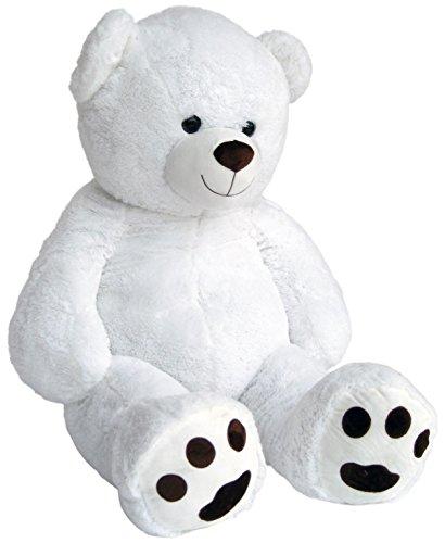 Preisvergleich Produktbild Wagner 9042 - Riesen XXL Teddybär 170 cm gross in weiss - Plüschbär Kuschelbär Teddy Bär 1,70 m