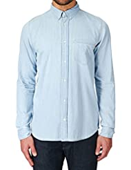 CARHARTT - L/S CIVIL SHIRT (BLUE) - BLEU