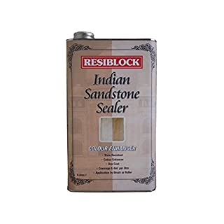Everbuild EVBRBINDENH5 Resiblock Indian Sandstone Sealer Colour Enhancer 5 Litre