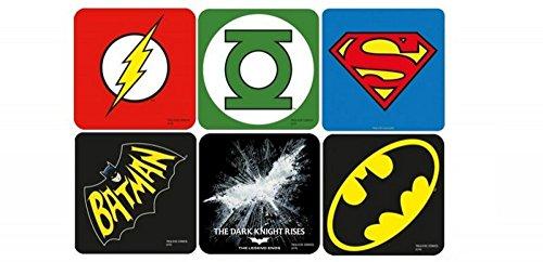 DC Comic - Untersetzer 6er Set - Juctice League - ()