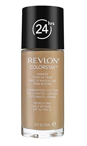3 x REVLON ColorStay makeup combination/oily skin 30ml - 350 Rich Tan (Steuern Fluid)