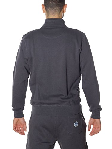 North Sails Herren Sport Kapuzenpullover Lowell Sweat Full Zip 950LEAD