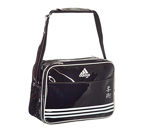 adidas Umhängetasche Shiny Sports Bag PU TKD schwarz-weiß
