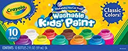 Crayola Washable Kids Paint, Pack of 10