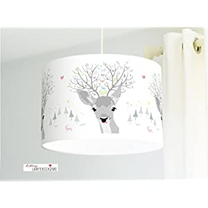 Lampenschirm - Reh - 35cm - Wunschfarbe und Größe auf Anfrage