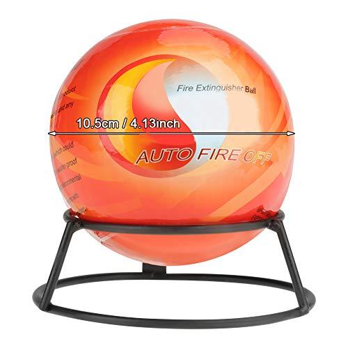 Mini extintor de bolas, extintor inteligente, multiusos extintor autoactivación para zonas de alto riesgo y lugares secos, 0,5 kg (0,5...