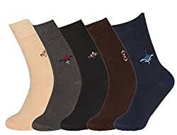 Abracadabra Mens Long Socks (Pack Of 5) (DNCS15007_Multi)